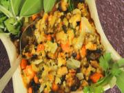 Thanksgiving Turkey Stuffing & Dressing