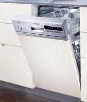 Bosch dishwasher for energy efficiency.