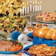 Dinner Ideas for hosting a Hanukkah party