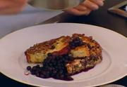 Wild Blueberry Granola French Toast