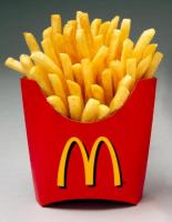Tiny Fries, But They Make Me Look Huge!