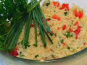 Betty's Easy Roasted Red Pepper Risotto