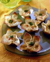 Cheesy Artichoke Tarts