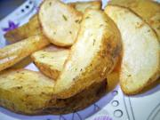 Crispy Golden Potato Wedges