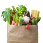 Food shopping for Holi