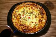 Vegetable Gruyere Quiche