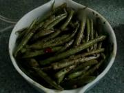 Curried French Beans & Canned Beans For Two Dinners