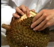 How to Cut a Durian