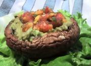 Vegan Style Portobello Mushroom Burger