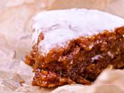 Gluten Free & Vegan Sticky Carrot Cake