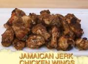 Jamaican Baked Jerk Chicken Wings