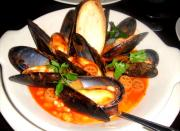 Mussels in Sherry