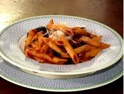 Tomato Black Olive Sauce with Penne Pasta