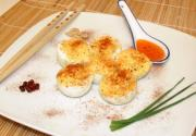 Devilled Eggs With Yoghurt