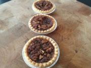 Mini Maple Pecan Pies (Maple Pecan Tartlets) - Quick Holiday Dessert idea