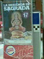 Hindu Goddess Lakshmi degraded in Burger King Ad