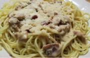 Filipino Style with Spaghetti with Filipino Style Carbonara Sauce - Part 2-Finalization