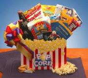 Popcorn gift baskets are easy to make at homes