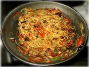 Angel Hair Stir Fry