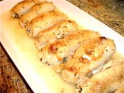 Chicken Roulade With Parmesan Cheese