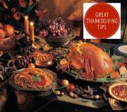 Celebrity tips for Thanksgiving dinner.