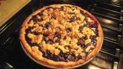 Fresh Blueberry Cream Pie