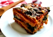 Homemade Eggplant and Spinach Lasagna