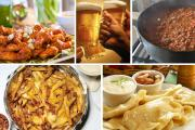 top 10 superbowl snack ideas - kick and dodge and set the ball rolling