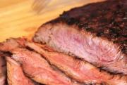 Grilled Thai Red Curry Flank Steak