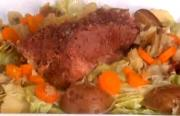 Corned Beef With Cabbage And Potatoes