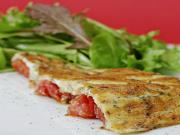 Tomato Frittata with Herbs