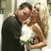 Courtney Stodden first made news when she married a much older guy, Dough Hutchinson
