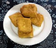 Stinky tofu - a popular snack.