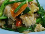 Stir Fry Kosher Tilapia Fillets with Ginger