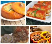 Stuffed thanksgiving dishes