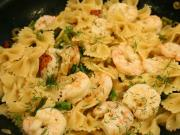 Jumbo Shrimp and Pasta Salad