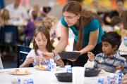 School lunches to become healthier, with more colors.