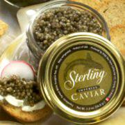 Sterling Caviar is making news all over America