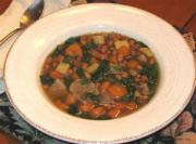 Hearty Ham And Vegetable Soup