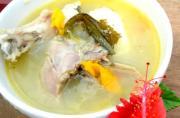 Sancocho de Gallina Dura (Panamanian Soup)