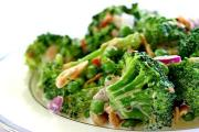 Broccoli is a zero fat green vegetable that is good to have