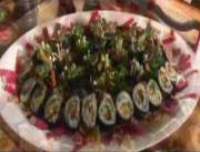 Hippy Gourmet makes Veggie Sushi