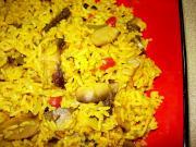 Mushroom Biryani