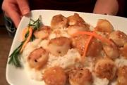 Seared Scallops in Orange Butter Sauce