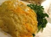 Mashed Potato with Chef Shamy's Garlic Herb Saute Butter