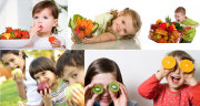 Children eat less unhealthy snacks if given fruit to eat.