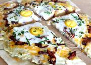 Eggs Bacon And Hash Breakfast Pizza
