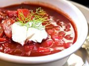 Red Cabbage Borscht