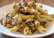 Country Pasta With Beets And Walnuts