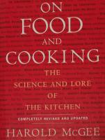 A Review About the Book, Food and Cooking